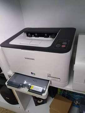 Impresoras Láser Color Clp320 Nueva Outlet con detalle