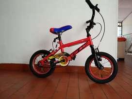Vendo super bicicleta para niños,muy buen estado