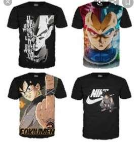 Camisetas sublimadas con motivos de moda o lo que ud quiera