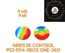 Gomas de grips 4mil el par para PS3 PS4 Xbox one y 360