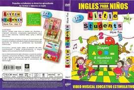 DVD INGLES PARA NIÑOS