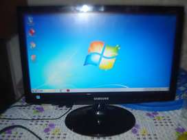 Monitor Led 20 Samsung S20c300l Impecable Exc Imagen/definic