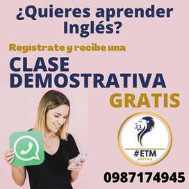 Clases One on One Inglés online
