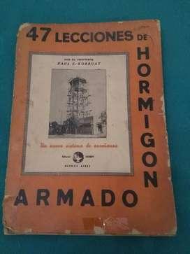 Curso de Hormigón Armado Raul Borruat EDITORIAL HOBBY  47 lecciones