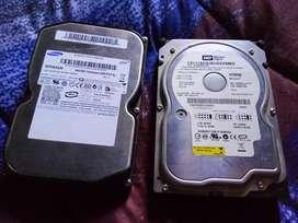 Vendo disco IDE 80gb c/u