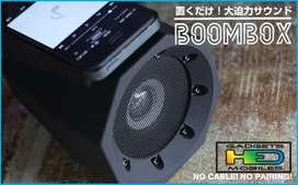 BOOMBOX  SPEAKERS  SIN CONTACTO NI CABLES SOLO EN HED GADGETS DE HED ELECTRONICS