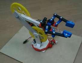 Maqueta Brazo Robot 3gdl