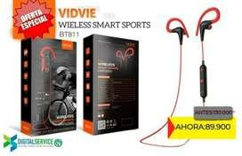 Audifonos Bluetooth Inalámbricos deportivos Vidvie BT811