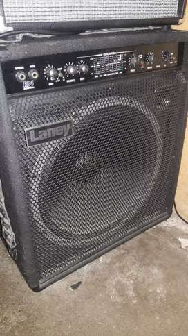 Amplificador de bajo laney rb4 165w 1x15 remato estado 8/10