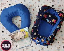 Nidos y Almohadas de lactancia o descanso para bebés