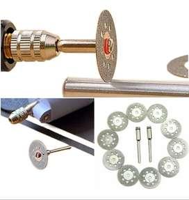 Mototool Kit De Disco Diamantado X 10 Pc Accesorios De 20 Mm