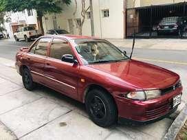 Vendo Mitsubishi lancer rojo - mecanico