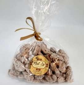 Nueces caramelizadas crocantes canela 95 gramos