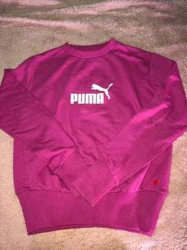 Buzo Puma Rosa