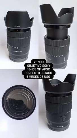 Objetivo Sony 18-135 mm f3.5 5.6