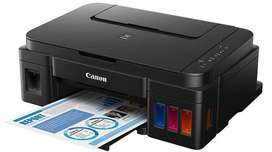 Impresora CANNON G2100 - MALO CABEZAL NEGRO