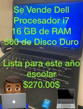 Vendo Laptop i7 Dell Latitude