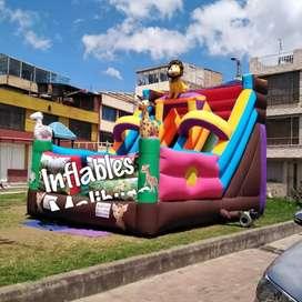 Fabricación saltarines inflables y publicidad.