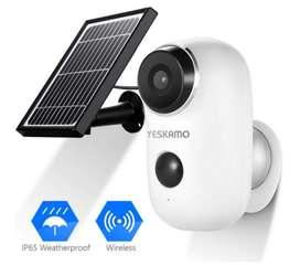 Camara Seguridad Solar - Totalmente Inalambrica