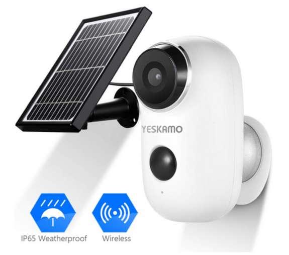 Camara Seguridad Solar - Totalmente Inalambrica 0