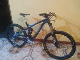 Bicicleta para Enduro BH de Carbono 27.5 MTB XC DH Downhill X4 Trek Specialized Shimano Sram FOX