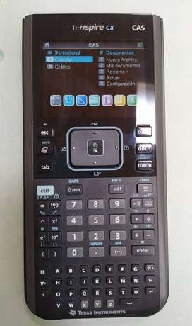 Calculadora TI-nspire CX CAS (1 semestre uso)