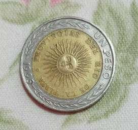 moneda de 1 peso para colección
