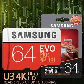 Micro Sd Samsung Evo Plus 64Gb Clase 10