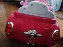 Espectacular carro eléctrico para niña de 1 a 5 años
