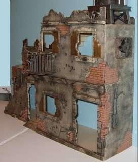dioramas tematica guerra o belico