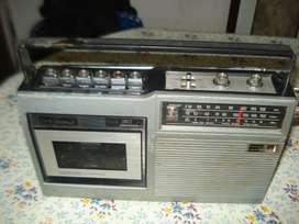 Radiograbador National Chico Solo Anda La Radio