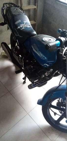 Cambio evo 2011 150 or moto señoritera