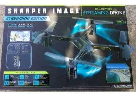 VENDO Sharper Image Drone DX-4 HD CON WEBCAM CON SUS ACCESORIOS 0