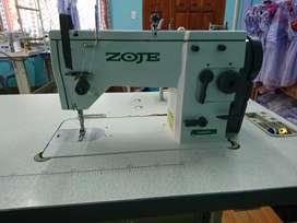 Maquina industrial zig zag y recta