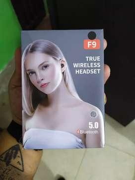 Auriculares Bluetooth tws f9 con base de caraga