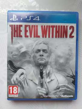 Video juego the evil within 2 ps4