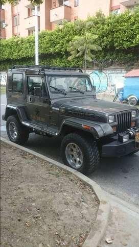 Jeep wrangler cambio o permuto