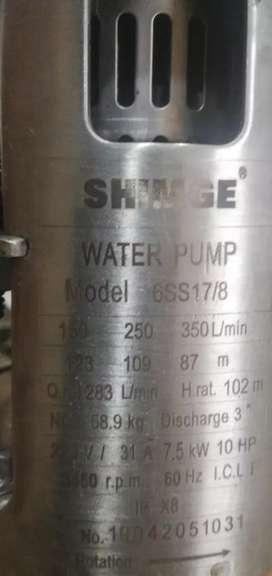 Se vende bomba sumergible de agua