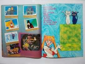 Álbum LLENO Sailor Moon 1 Navarrete- Perú 1996 NO tap hit Pani db ball