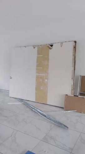 Se realisan trabajos . Durlock.. Pintura..  rebestimiento plástico..  albañileria