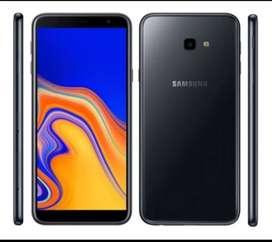 Samsung j4 prime astillado anda perfecto de 32gb Android de 9 con cargador y funda permuto