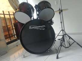 Bateria custom drums 5 piezas