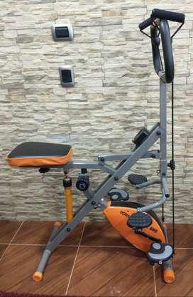 Maquina Abdominal - Bicicleta Magnética Total Horse Rider