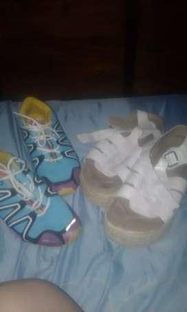 Zapatillas y zandalias