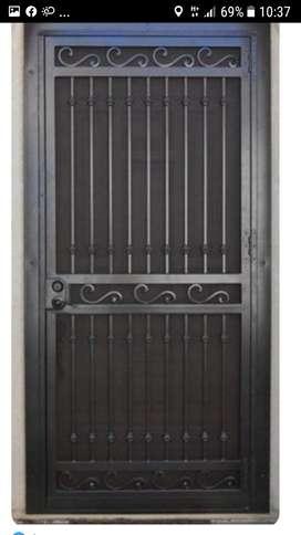 Se fabrican rejas puertas y portones!!
