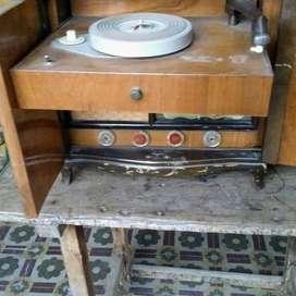 Radio tocadisco vintage
