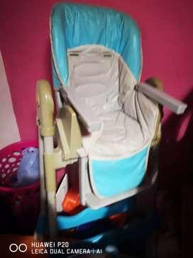 Silla 3 Posiciones para bebe (celeste)