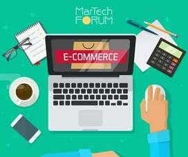E-commerce, marketing, contenido digital redes página web