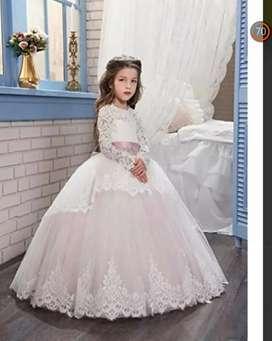 Vestido primera comunión importado para niña