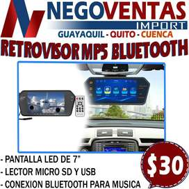 RETROVISOR MP5 BLUETOOTH